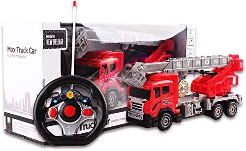RC Auto kaufen Feuerwehr Bild 6: deAO funkgesteuertes Feuerwehrauto; Truck mit Kanälen- Voll funktionsfähiges Fahrzeug mit Fernbedienung*