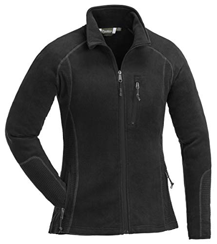 Pinewood Damen Micco Fleece Jacke, Black, S