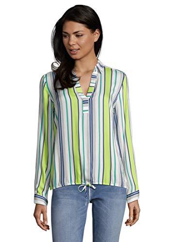 Betty Barclay Damen 8045/1273 Bluse, Mehrfarbig (Blue/Green 8850), (Herstellergröße: 46)