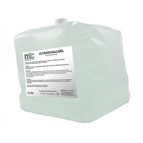 Ultraschallgel - 5kg Cubitainer, Kontaktgel, Leitgel, Übertragungsgel