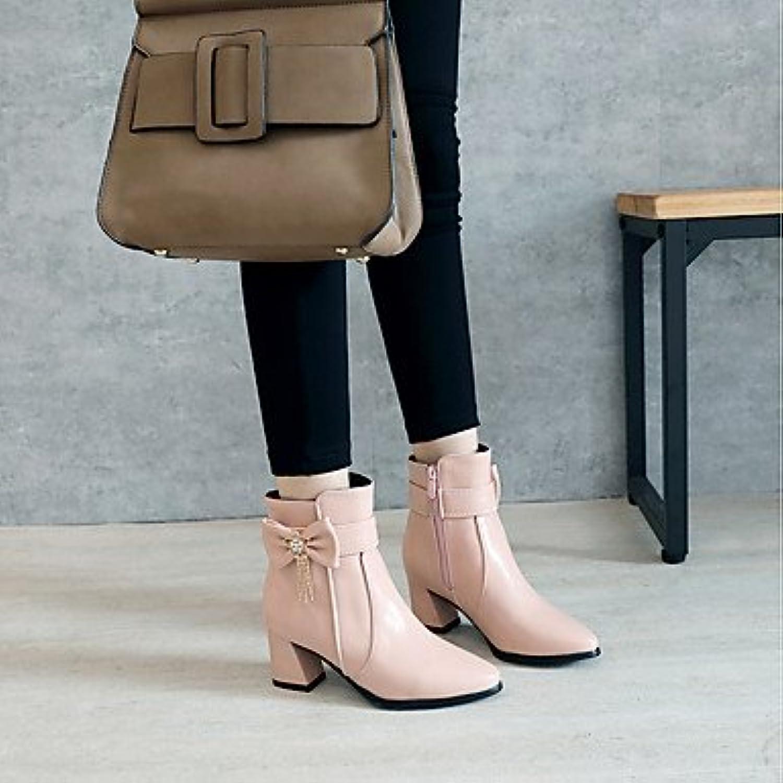 3df18aa66b304 QTZS Women's shoes shoes shoes Leatherette Fall Winter Fashion Boots ...