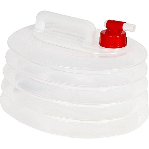 Trespass Squeezebox - Réservoir d'eau repliable (6 litres) (Taille unique) (Clair)