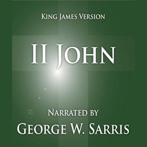 The Holy Bible - KJV: 2 John audiobook cover art