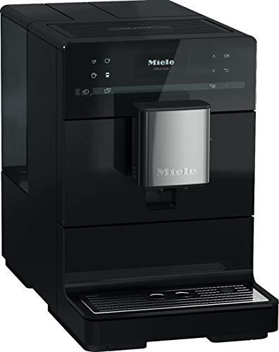 Miele CM 5310 Silence Kaffeevollautomat OneTouch for Two, autom. Spülprogramme, einfache Reinigung, entnehmbare Brüheinheit, schwarz