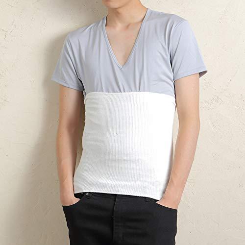 腹巻メンズ消臭機能付き綿はらまき薄手日本製男女兼用(オフホワイト)