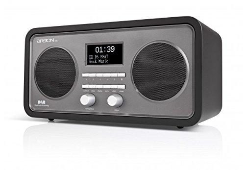 Argon DAB+UKW Radio DAB3+ V5 schwarz