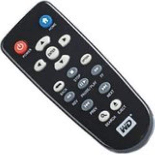 Nettech WD Remote 4 Universal Replacement Remote Control Fit for WD Western Digital TV Live Plus USB2.0 AVI 1080P HD Hub Elements Media Player