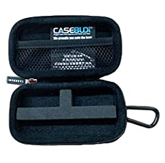 Ballistic nylon zipper case built for your VUSE Alto and cartridges and charger Included carabineer means you can attach the case on most anything | clips on backpack, jeans, purse, keychain, belt loop Perfect-Fit die-cut foam compatible with VUSE Al...
