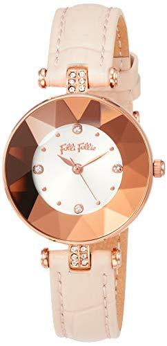 [フォリフォリ] 腕時計 WF18R047SSS-PI レディース 正規輸入品 ピンク