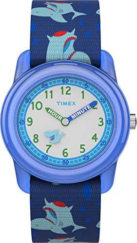 Timex Unisex Kinder Analog Quarz Uhr mit Stoff Armband TW7C13500