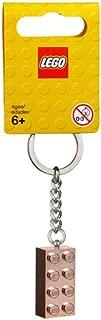 LEGO 2x4 Rose Gold Brick Key Chain (853793)