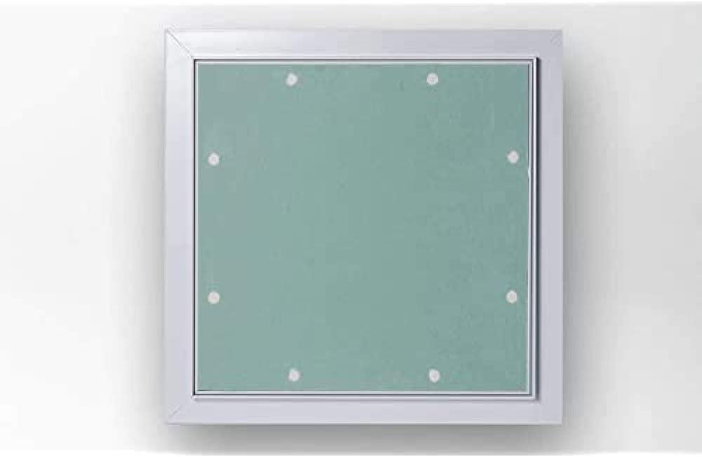 Akifix NAMCP04023-AZ - Bol de inspección de cartón yeso con marco de aluminio Serie Ak Lux13, placa de 13 mm, 40 x 40 cm