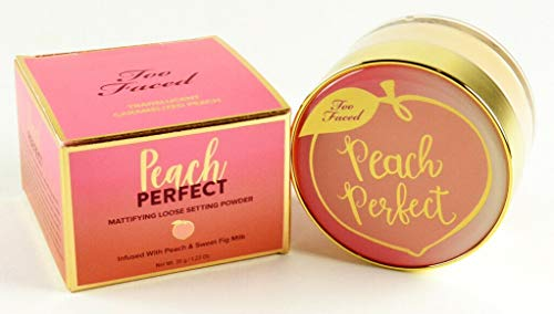 TOO FACED PEACH PERFECT MATTIFYING LOOSE SETTING POWDER - TRANSLUCENT CARAMELIZED PEACH