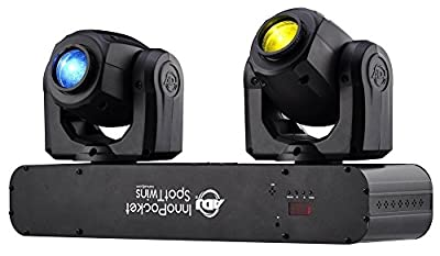 Inno Pocket Spot Twins LED Moving Head, 2x 12W