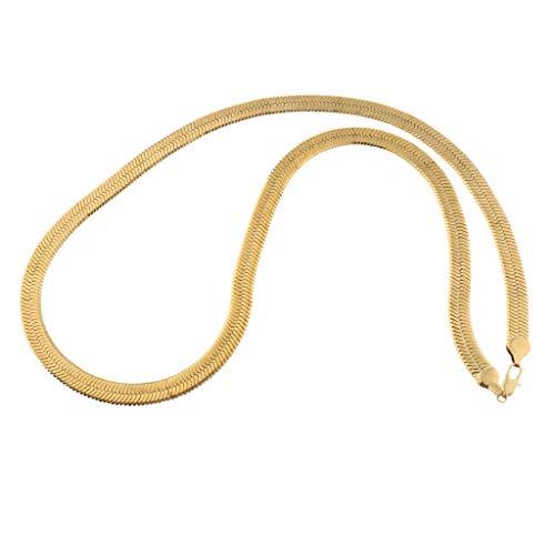 oshhni Collar de Hombre Cadena de Aleación Collar de Mujer para Ropa de Decoración