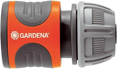 Gardena Schlauchverbinder-Satz 13 mm (1/2 Zoll) und 15 mm (5/8 Zoll): Steckverbinder für den Schlauchanfang, schneller und einfacher Anschluss (18281-20)