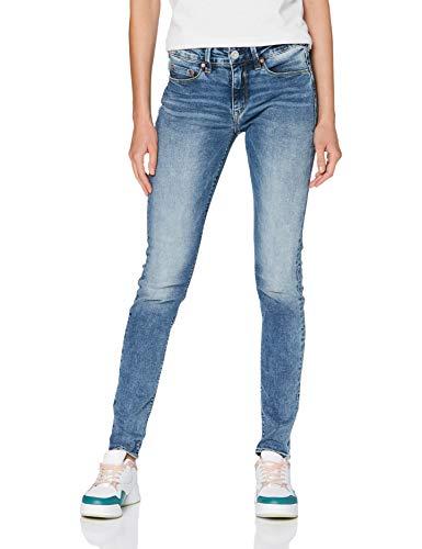 Herrlicher Damen Super G Slim Jeans, Mezzo 085, W30/L32
