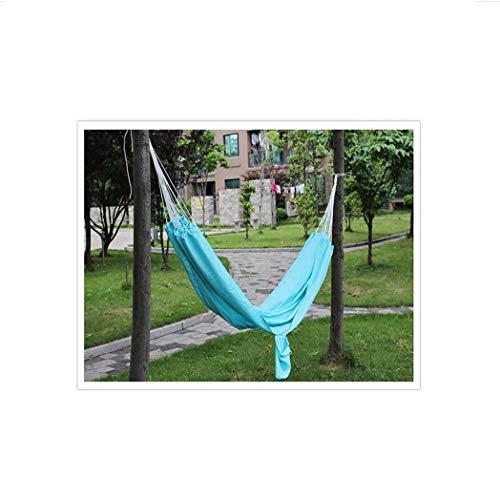 SHARESUN Camping avontuur speciale parachute doek hangmat, anti-rollover ademende lichtgewicht draagbare multifunctionele outdoor schommel bed, draaggewicht 200kg, strand, tuin, 200 * 140cm
