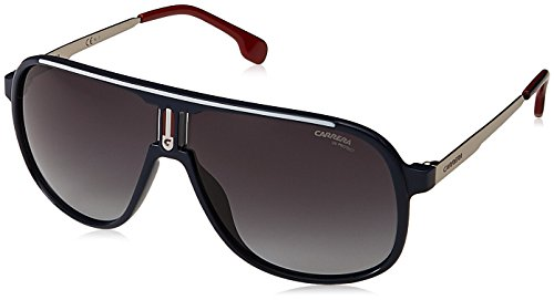 Carrera 1007/S 9O PJP Gafas de sol, Azul (BLUEE/DARK GREY SF), 62 Unisex-Adulto