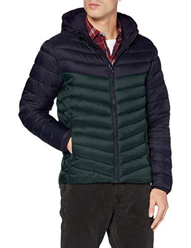 Joules Tom Herren Hooded Go to Jacket Jacke, Grün, L