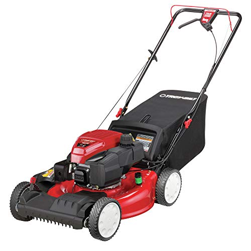 Troy-Bilt 12AVA2MR766 21 in. Self-Propelled 3-in-1 Front Wheel Drive Mower with 159cc...