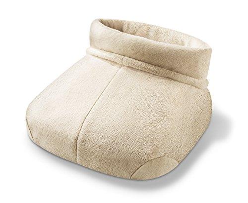 Beurer FWM 50 Shiatsu-Fußwärmer (mit Massage- und Temperaturfunktion, geeignet für große Füße)