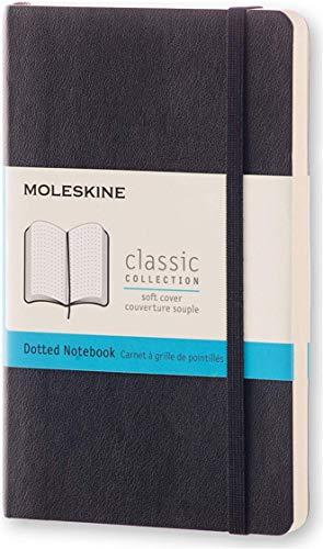 Moleskine Notizbuch, Pocket, A6, Punktraster, Soft Cover, Schwarz