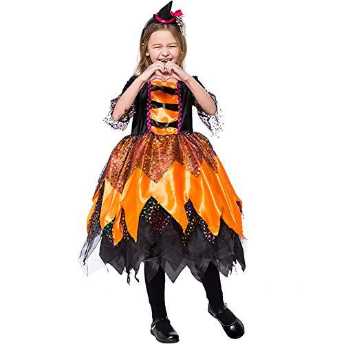Prestaties Kostuum Oranje Heksen Festival Stage Prestatie Rol Spelen L ORANJE