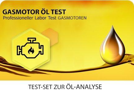 Öl Test für erdgasbetriebene Gasmotoren