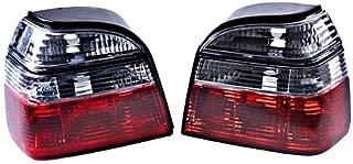 Rear Tail Lights Clear Turn Signal PAIR L+R Fits VW Golf 3 Mk3 91-99