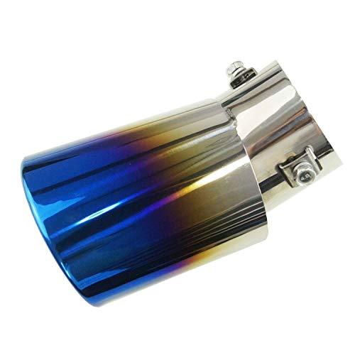 99020532 Acero Inoxidable Acero de Escape Silenciador para tuberías de Punta de Cola de decoración de Coche