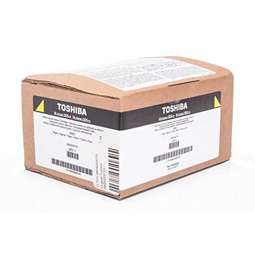 Original Toshiba 6B000000753 / T-305PY-R, Premium Drucker-Kartusche, Gelb, 3000 Seiten