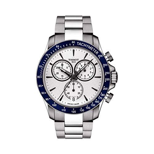 Tissot T106.417.11.031.00 V8 T-Sport Reloj cronógrafo de plata para hombre