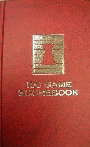 echa un vistazo a los más baratos Marbled rojo Hardcover Chess Chess Chess Scorebook - USA Made - Sewn Binding - 100 Games by rook-n-pawn  promociones de descuento