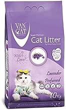 Van Cat 10 kg Lavender Perfumed White Bentonite Clumping Cat Litter