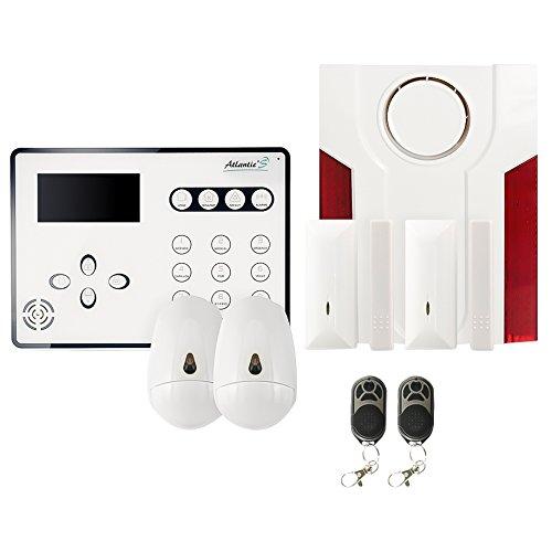 Atlantic'S ATEOS KIT 3 Alarme maison sans fil GSM
