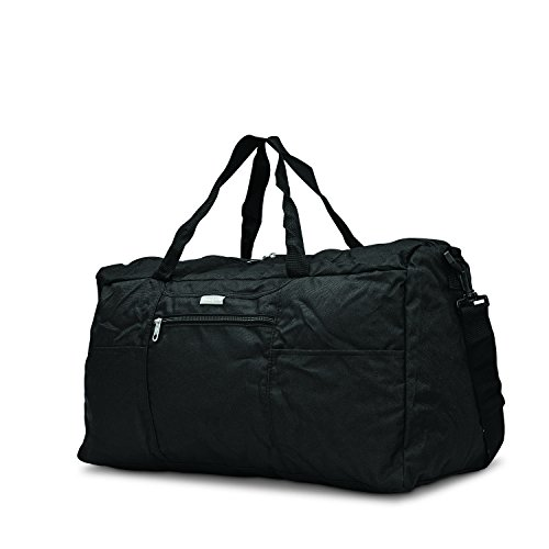 Samsonite Foldaway Duffle Medium Duffel Bag, Black, One Size
