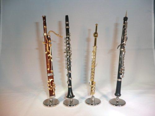 ミニチュア楽器 木管四重奏