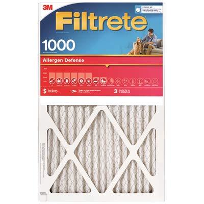 18x20x1, Filtrete Air Filter, MERV 11, by 3m (Pack of 4) -  9845-4PK