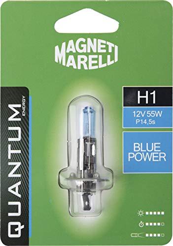 Magneti Marelli 070.00000000009510 H1 Ampoule simple pour voiture Bleu 12 V 55 W Culot P14,5s