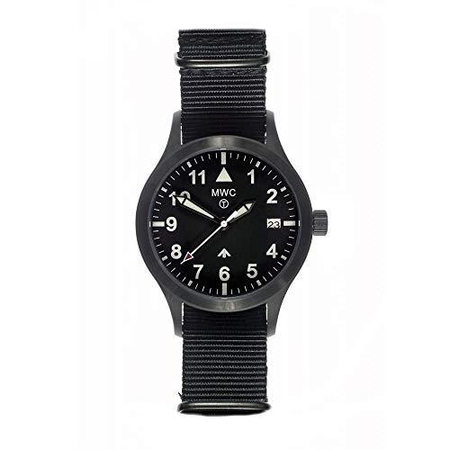 MWC MKIIIPVD100M - Orologio, cinturino in tessuto, colore: nero