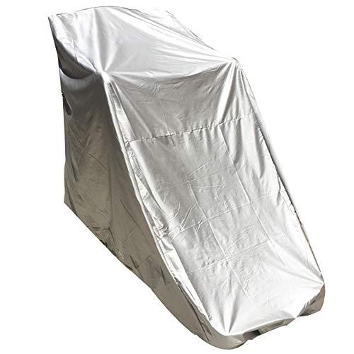 SSRS Jardín Muebles de ratán Cubierta de Gran tamaño Rueda de Ardilla Protector Solar a Prueba de Polvo Tela Impermeable fácil de Limpiar Resistente al Desgaste de Tela Oxford portátil, Duradero