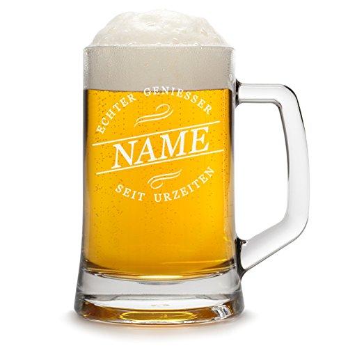 polar-effekt Jarra de cerveza personalizada con grabado de un nombre, jarra de...