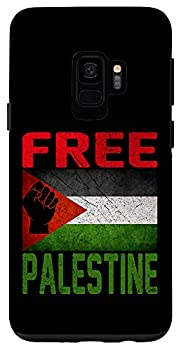 Galaxy S9 Free Palestine Gaza Flag Arabic West Bank Middle East Peace Case