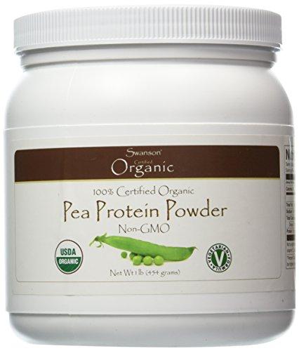 Swanson 100% Certified Organic Pea Protein Powder