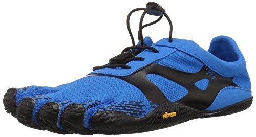 Vibram FiveFingers 16M0701 KSO Evo, Fitnessschuhe Herren, Blau (Blue/Black), 47 EU
