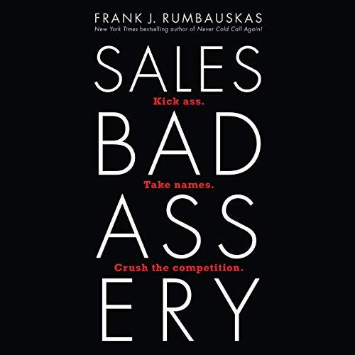 Couverture de Sales Badassery