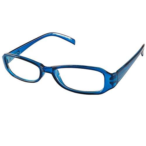Looki.lux lichte compacte leesbril leeshulp met veerbeugel in vier kleuren van +1,0 +1,5 +2,0 +2,5 +3,0 +3,5 leesbrillen