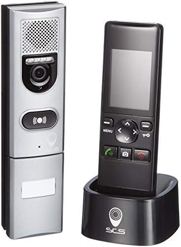 """SCS Sentinel 200M Porter Monitor inalámbrico de intercomunicación 2,4""""-Video Teléfono 200-PVS0003, Negro"""