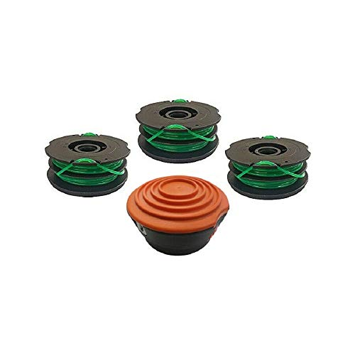 Buy EFP Dual Line Auto Feed Spool Kit for Black & Decker DF-080-BKP GH1000-3 Spools + Bump Head and ...